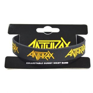 Anthrax - Rubber Wristband
